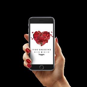 Collaboration VIDEDRESSING x HAPPN : une Saint Valentin mode et connectée