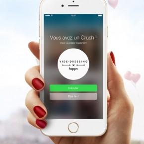Videdressing & Happn pour la Saint Valentin: la vidéo de l'opération !