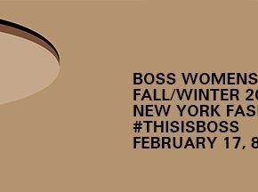 Le défilé BOSS en live streaming – mercredi 17 février – 20h15