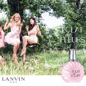 Lanvin Éclat de Fleurs et Balmain Extatic Gold Musk