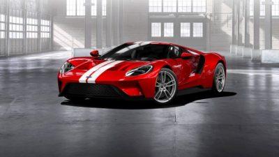 Ford lance le processus de commande de sa nouvelle Ford GT sur FordGT.com