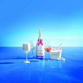 Moët Ice Impérial Rosé, le champagne estival !
