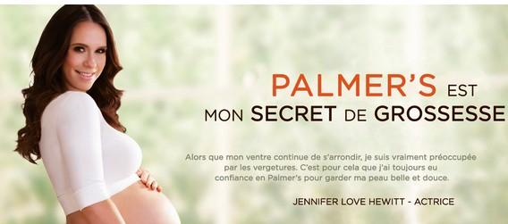 Palmer's les cosmétiques qui prennent soins de vous pendant la grossesse