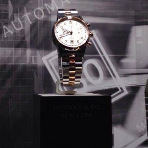 Tiffany&Co à l'heure et automatique
