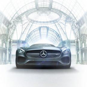 Mercedes-Benz s'installe au Grand Palais vitesse grand V.