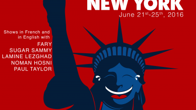 Le French Comedy Festival de New-York !