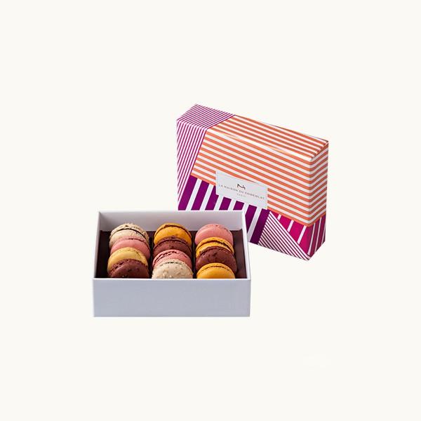 La maison du chocolat les coffrets de macarons for Macarons la maison du chocolat
