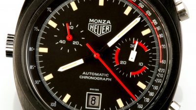 Le chronographe Heuer Monza