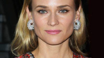 Diane Kruger a choisi le joaillier Chopard pour l'avant-première de Disorder