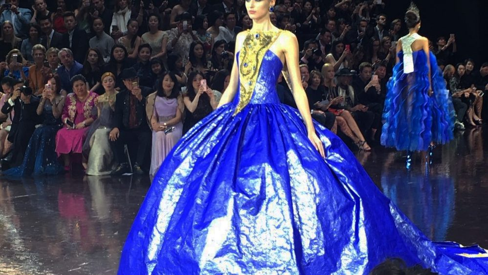 GUO PEI Haute Couture Automne-hiver 2016-2017
