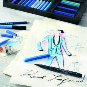 Karl Lagerfeld x Faber-Castell !