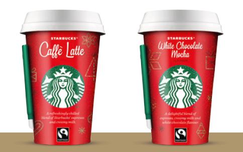 Starbucks envahi les rayons et nos cafetières pour Noël