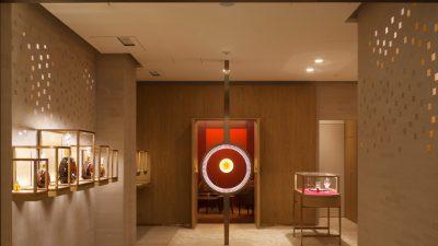 La boutique LOUIS XIII – Une première mondiale