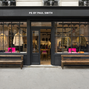 PREMIÈRE BOUTIQUE PS BY PAUL SMITH À PARIS