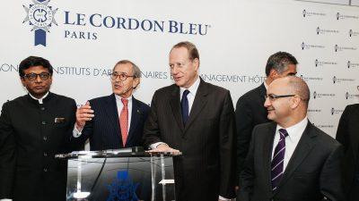 Le Cordon Bleu a été inauguré