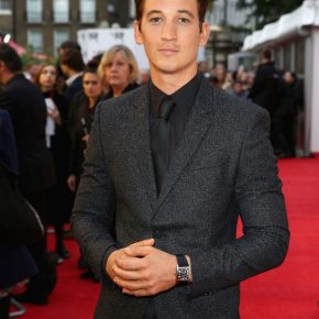 Miles Teller in Givenchy by Riccardo Tisci