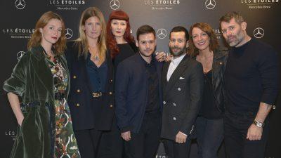 Les Etoiles Mercedes-Benz x Alexis Mabille // David Ferreira, lauréat de la première édition .