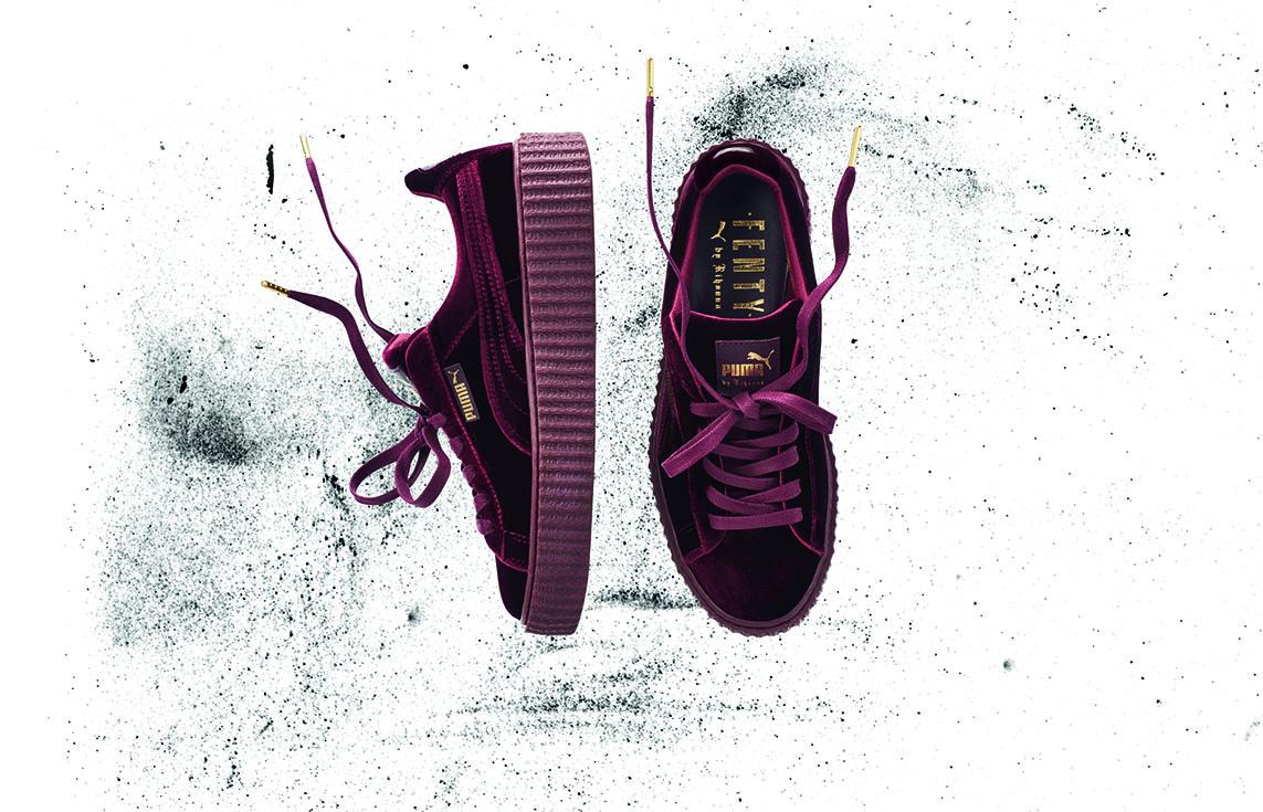 Chaussures Puma X Fenty Rihanna Creepers Velvet