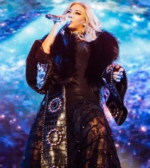 CL in Givenchy Haute Couture by Riccardo Tisci