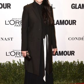 Marina Abramovic in Givenchy by Riccardo Tisci