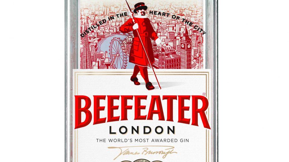 Beefeater met Londres en bouteille