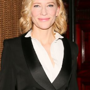 Cate Blanchett in Givenchy Haute Couture Essentials by Riccardo Tisci