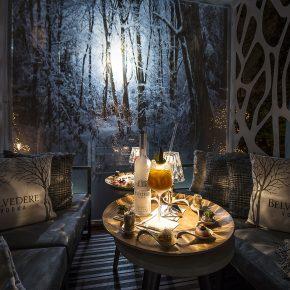 Le Bar éphémère du Royal Monceau Raffles Paris : Jardin d'Hiver Belvedere vodka