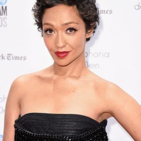 Ruth Negga in Givenchy Haute Couture by Riccardo Tisci