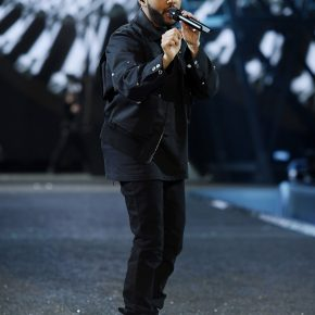 The Weeknd in Givenchy by Riccardo Tisci