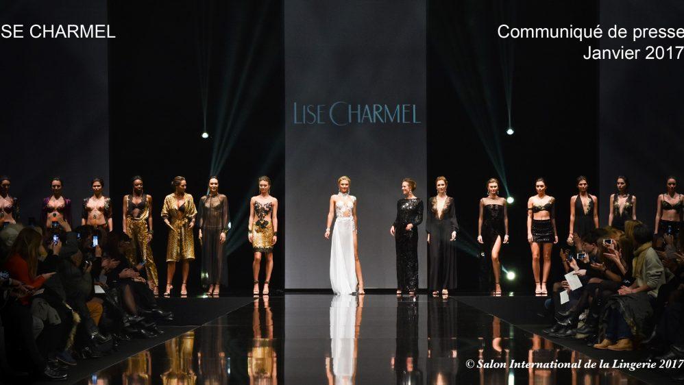 Désinvolte et féminine, défilé Collection AH 17 LISE CHARMEL