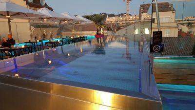 A la découverte du Five Seas Hotel de Cannes.