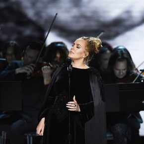 Adele in Givenchy Haute Couture by Riccardo Tisci – 59th Annual GRAMMY Awards Second Performance