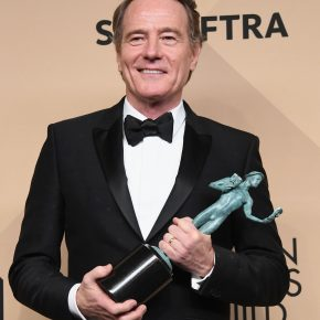 Bryan Cranston in Givenchy by Riccardo Tisci – 23rd Annual Screen Actors Guild Awards