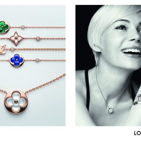 LOUIS VUITTON, MICHELLE WILLIAMS INCARNE LA COLLECTION DE JOAILLERIE BLOSSOM