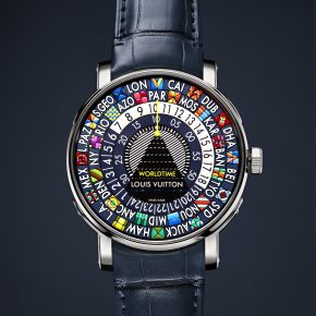 LOUIS VUITTON nouvelle collection horlogère ESCALE BLEUE