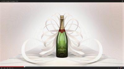 Champagne COLLET remporte le Cristal Luxury Award au Cristal Festival