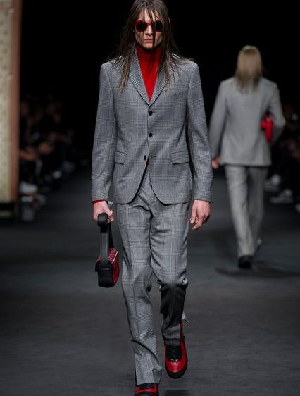 Versace, Fashion Week Homme, Milan, Automne-Hiver 2017-2018