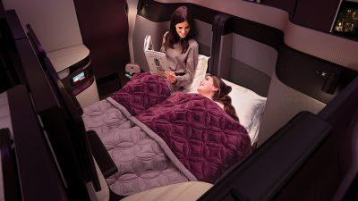 Qatar Airways dévoile QSuite, son Siège de Classe Affaires révolutionnaire