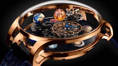 Nouvelle montre Jacob&Co avec les huit planètes de notre système solaire