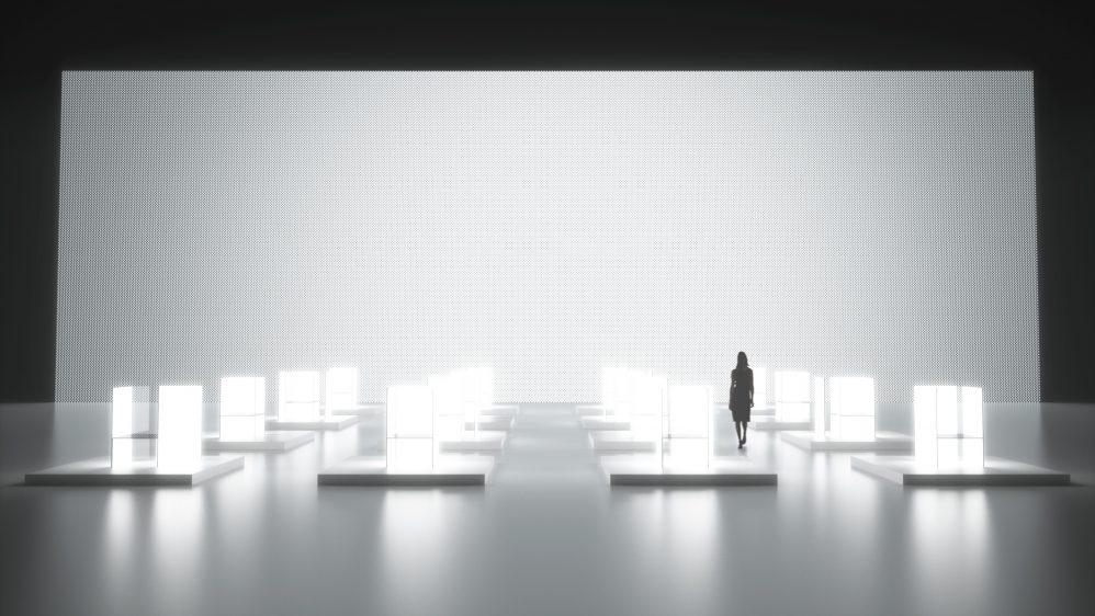LG et Tokujin Yoshioka célèbrent l'innovation à la semaine du Design de Milan