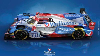 Graton Editeur, Motul et REBELLION Racing dévoilent le design de la VAILLANTE REBELLION  qui prendra le départ des 24 Heures du Mans