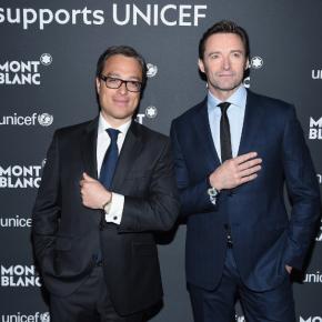 Soirée de lancement de la collection Montblanc for UNICEF