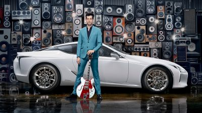 Make your Mark : pour le coupé LC, Lexus et Mark Ronson proposent de composer sa propre bande-son !