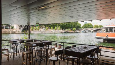 La Démesure sur Seine, restaurant sur l'eau et open-air en bord de Seine