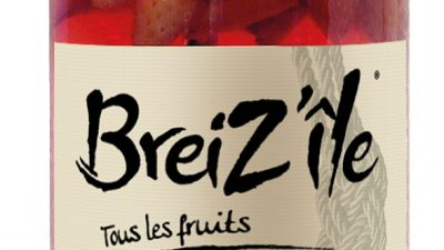 BreiZ'Île, un Rhum arrangé à la fraise de Plougastel fabriqué en Bretagne