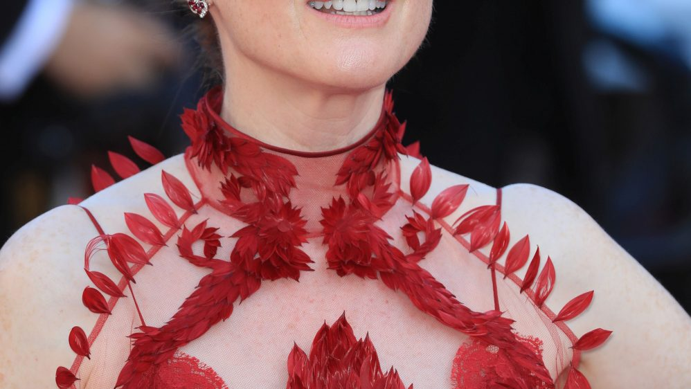 Julianne Moore in Givenchy Haute Couture – 70th Annual Cannes Film Festival