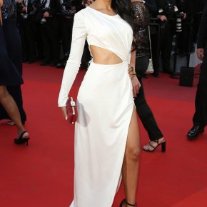 Bollywood Actress Fagun Thakrar wears Patrick Boffa – 70th Cannes Film Festival – May 20th