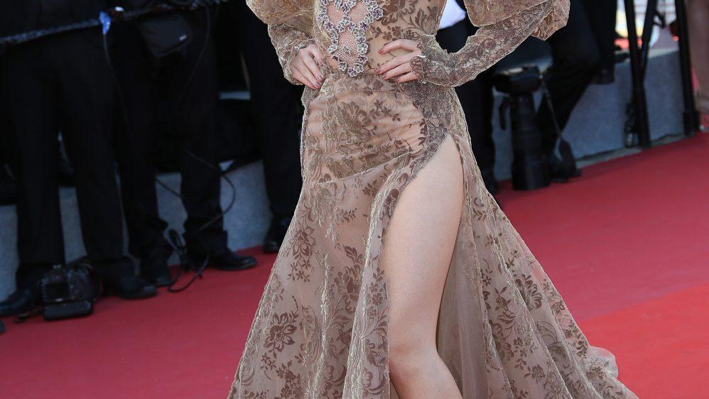 Vietnamese actress Ngọc Thanh Tâm wears Galia Lahav – 70th Cannes Film Festival – May 17th