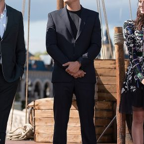 Orlando Bloom in Givenchy by Riccardo Tisci