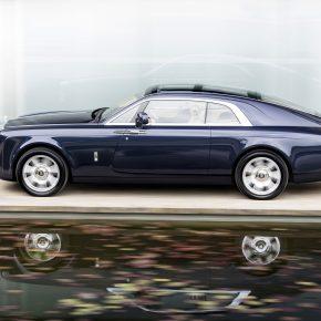 Rolls-Royce dévoile la Sweptail à la Villa d'Este